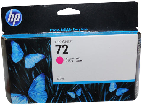 HP C9372A (72) Magenta High Yield Ink 130ml