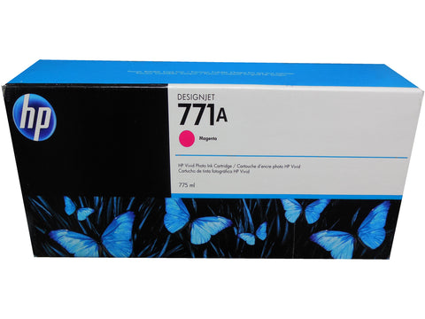 HP B6Y17A (771A) Magenta Ink Cartridge