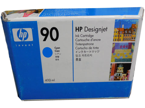 HP C5060A (90) Cyan Ink 225ml