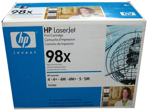 HP 92298X (98X) Black High Capacity Toner Cartridge