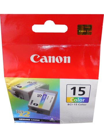 CANON BCI-15 (8191A003AA) Color Twin Pack Ink
