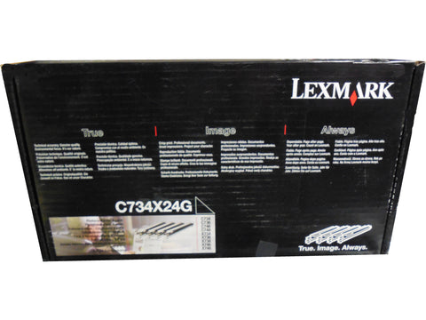LEXMARK C734X24G Photoconductor Kit 4-Pack