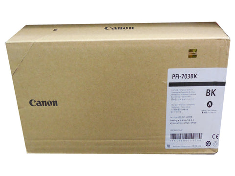 CANON PFI-703BK (2963B001AA) Black Ink Tank 700ml