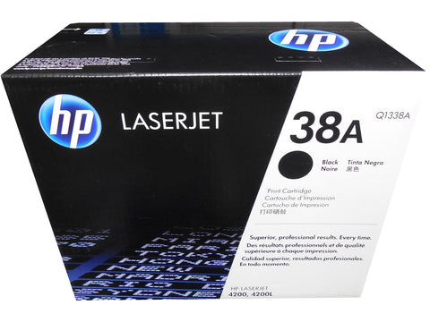HP Q1338A (38A) Black Toner Cartridge