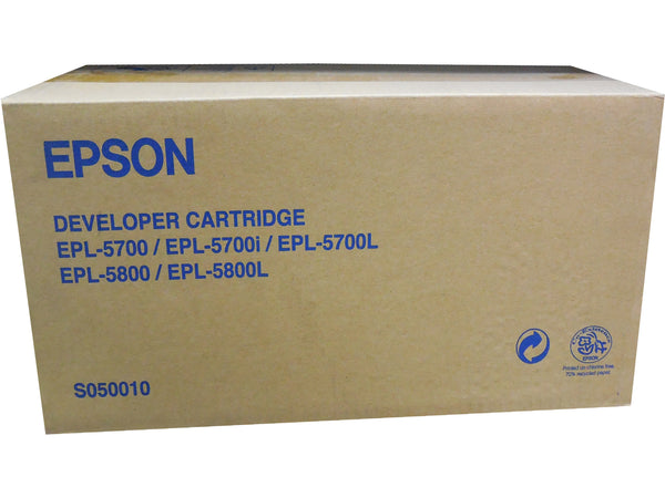 EPSON S050010 Black Toner Developer Cartridge