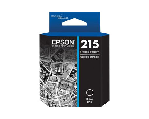 EPSON T215120 (215) Black Ink Cartridge