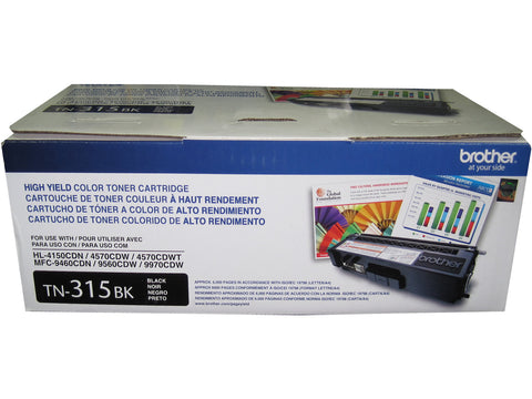 BROTHER TN-315BK Black High Yield Toner 6k