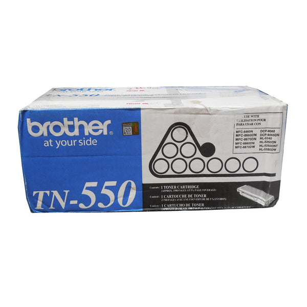 BROTHER TN-550 Black Toner Cartridge 3.5k