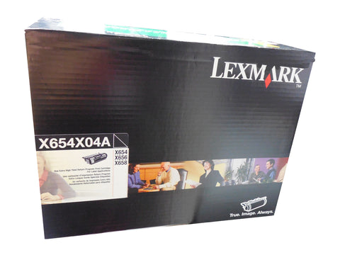LEXMARK X654X04A Black Extra High Yield Toner for labels 36k