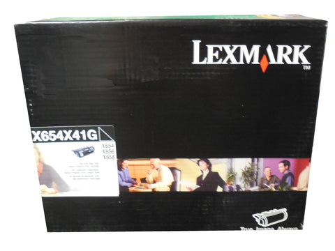 LEXMARK X654X41G Black Extra High Yield Toner 36k