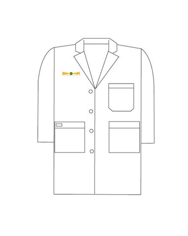 Oscilloscope Logo Lab Coat
