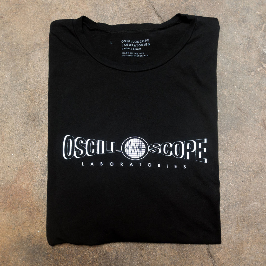 Black Oscilloscope T-Shirt