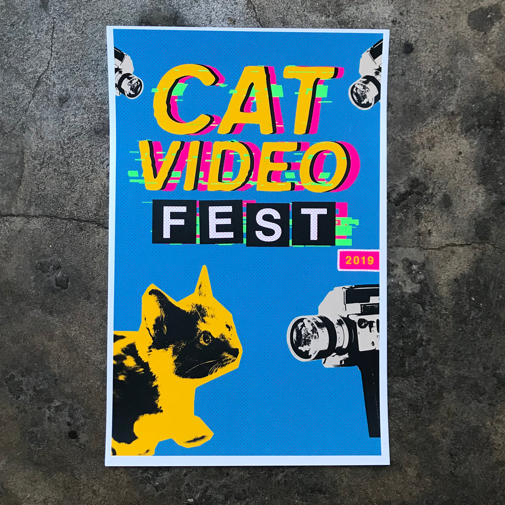 Cat Video Fest Screen Prints