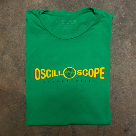 Green Oscilloscope T-Shirt