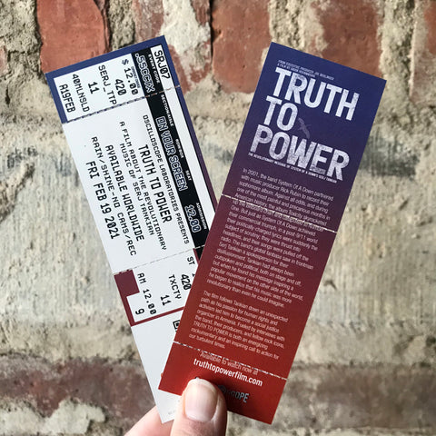Truth to Power Commemorative Ticket