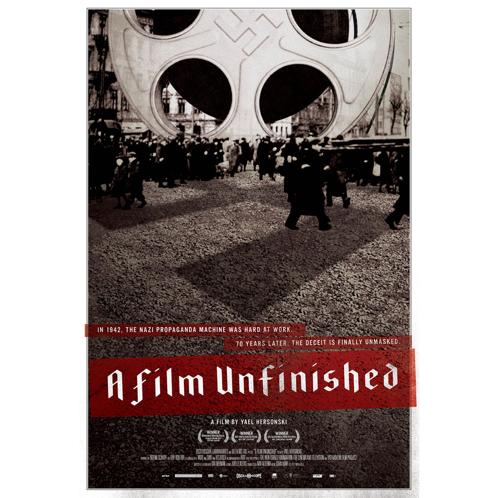 A Film Unfinished Poster