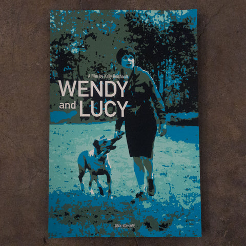 Wendy and Lucy Screen Print
