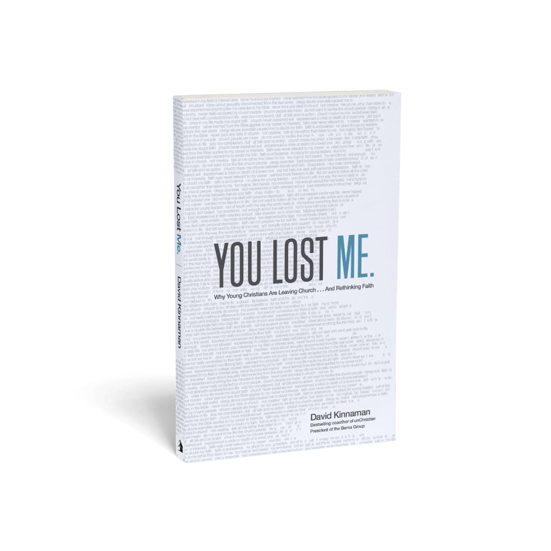You Lost Me Hardback with FREE DVD