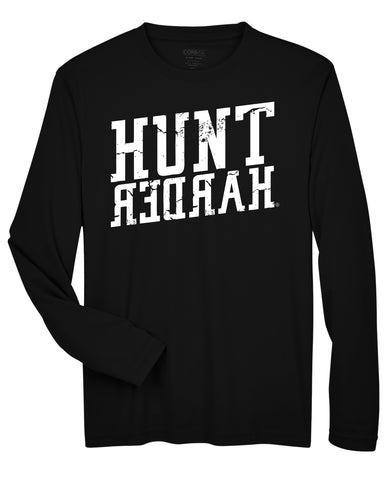 Hunt Harder Long Sleeve Performance T-Shirt