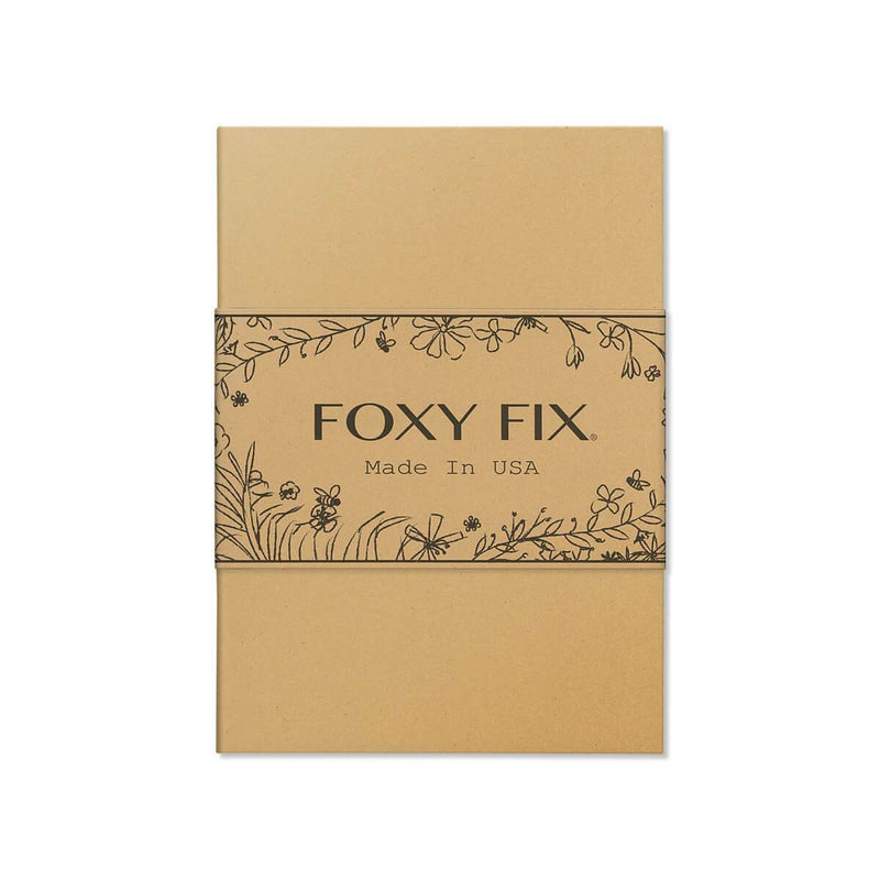 Foxy Notebook Paper Insert - Kraft Cover 3 Pack (No. 5)