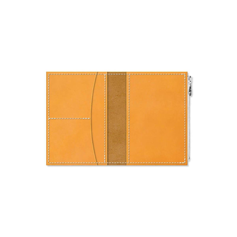 Custom - Foxy Notebook Wallet Insert - Size No. 3 - Amber