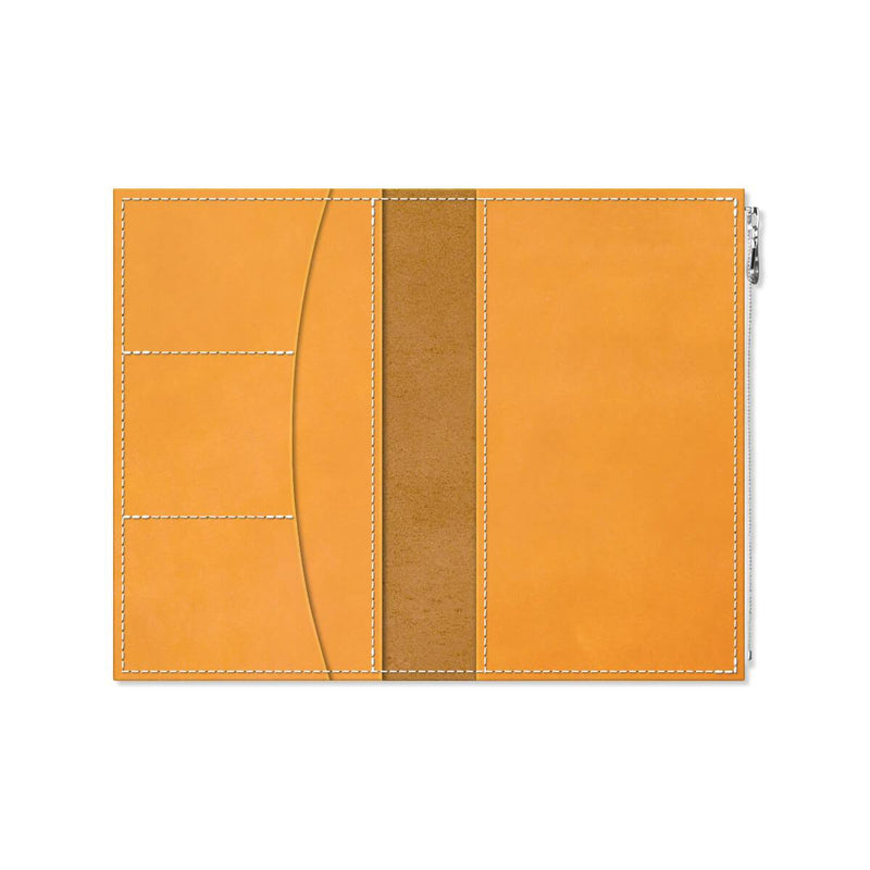 Custom - Foxy Notebook Wallet Insert - Size No. 7 - Amber