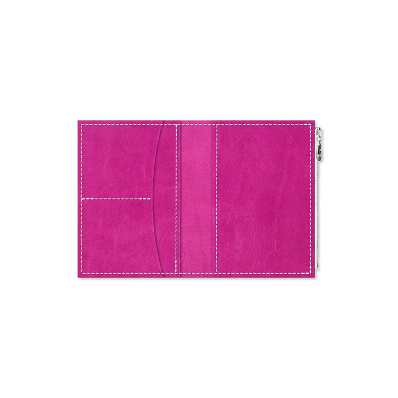 Custom - Foxy Notebook Wallet Insert - Size No. 3 - Berry