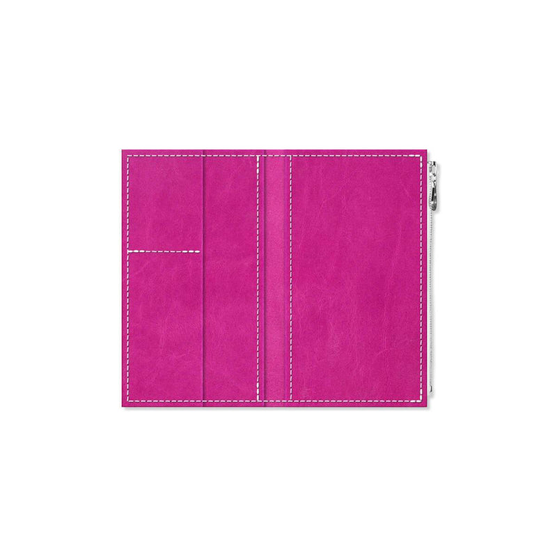 Custom - Foxy Notebook Wallet Insert - Size No. 4 - Berry