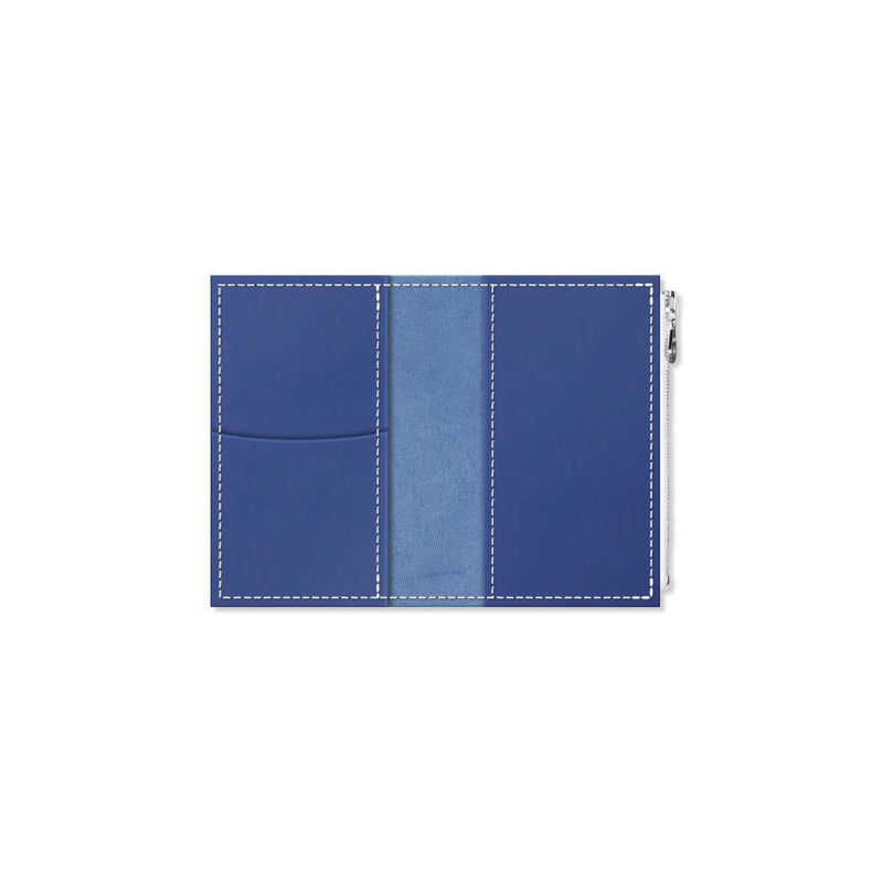 Custom - Foxy Notebook Wallet Insert  - Size No. 2 - Blueberry