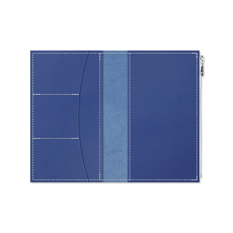Custom - Foxy Notebook Wallet Insert - Size No. 7 - Blueberry
