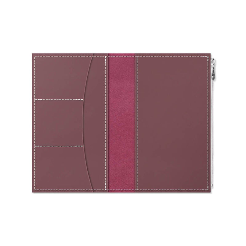 Custom - Foxy Notebook Wallet Insert - Size No. 7 - Chocolate Cherry