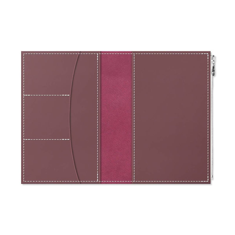 Custom - Foxy Notebook Wallet Insert - Size No. 8 - Chocolate Cherry