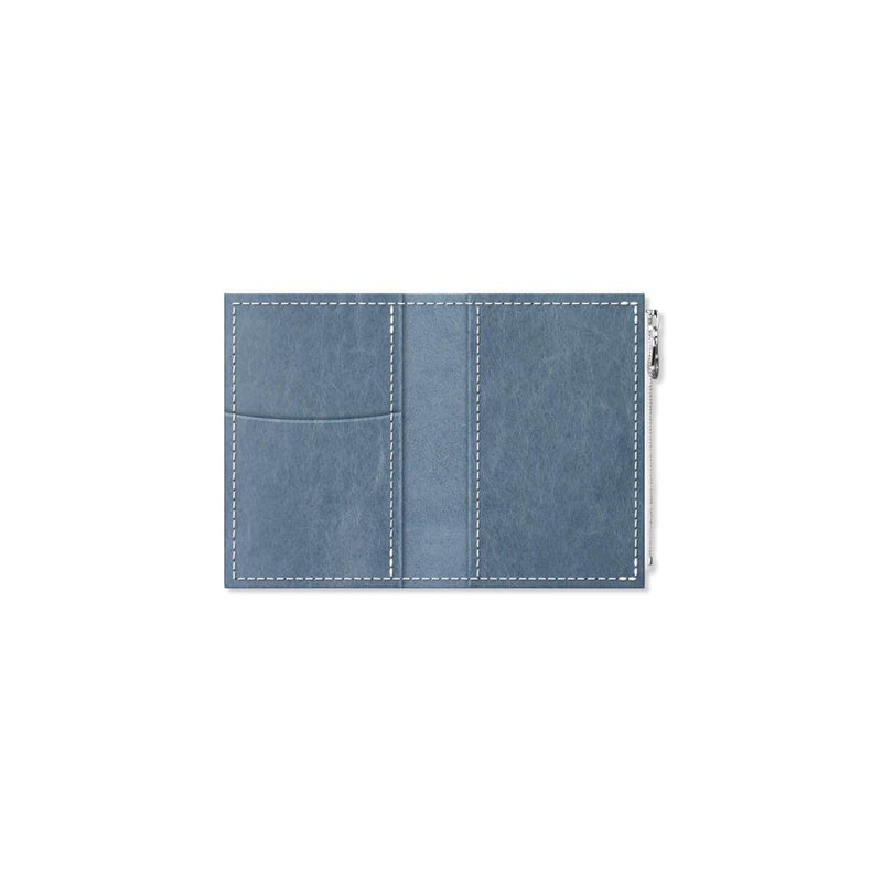 Custom - Foxy Notebook Wallet Insert - Size No. 1 - Denim