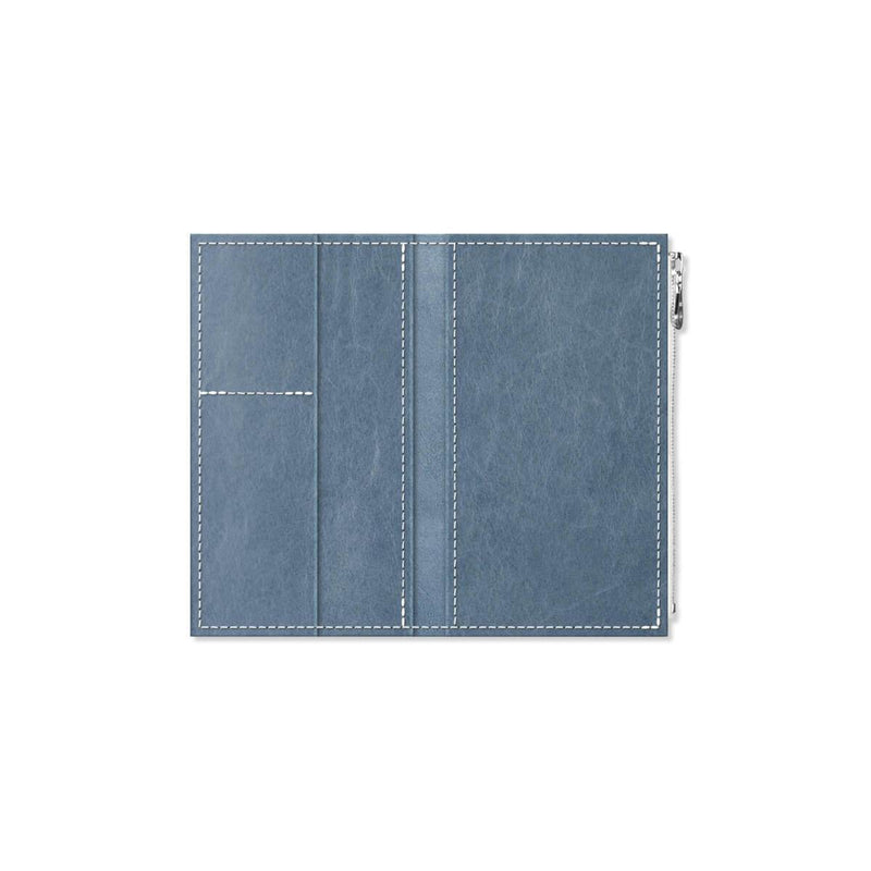 Custom - Foxy Notebook Wallet Insert - Size No. 4 - Denim