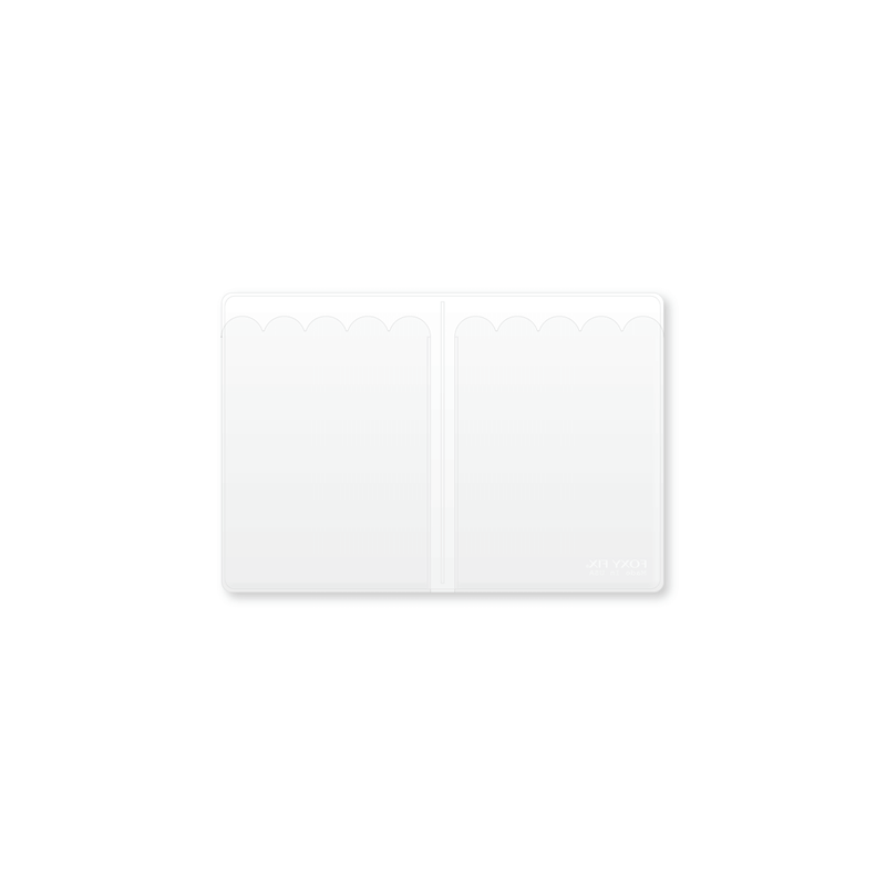 Vinyl Top-load  Notepad Insert - No. 1 (Passport)