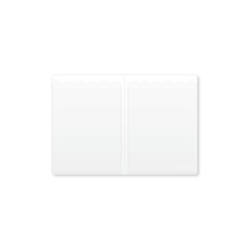 Vinyl Top-load  Notepad Insert - No. 3 (A6)