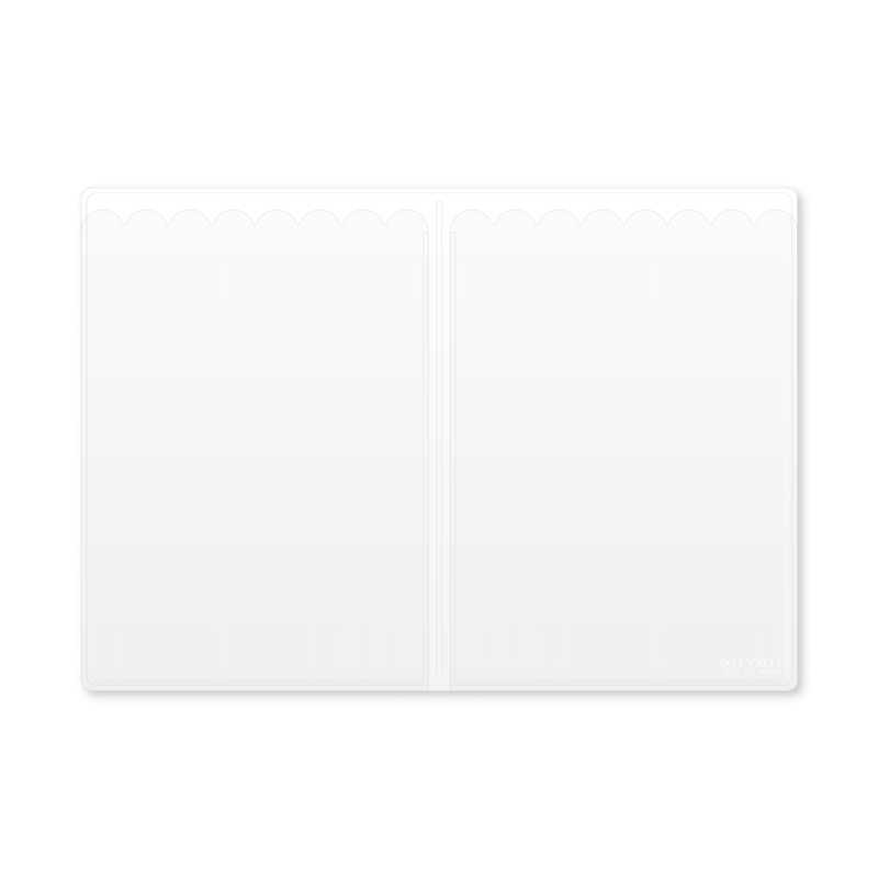Vinyl Top-load Notepad Insert - No. 8 (A5)