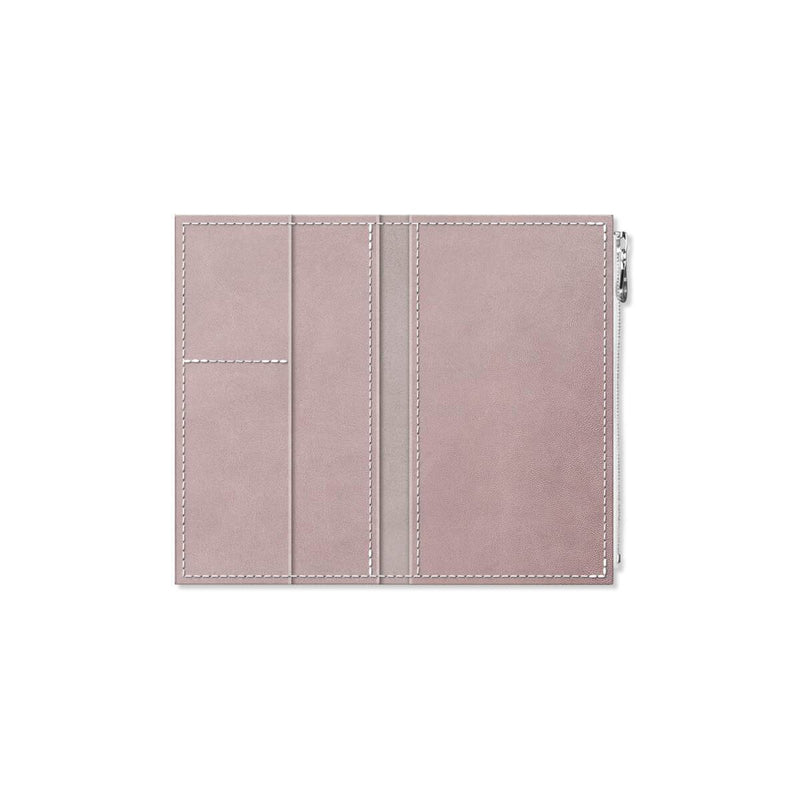 Custom - Foxy Notebook Wallet Insert - Size No. 4 - French Lavender