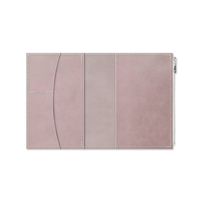 Custom - Foxy Notebook Wallet Insert - Size No. 5 - French Lavender