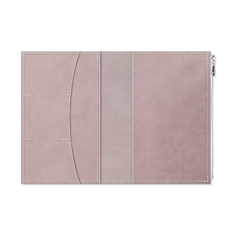 Custom - Foxy Notebook Wallet Insert - Size No. 8 - French Lavender