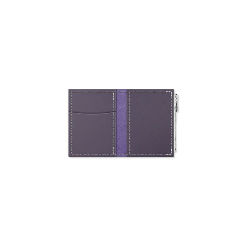 Custom - Foxy Notebook Wallet Insert - Size No. 0 - Grape Soda
