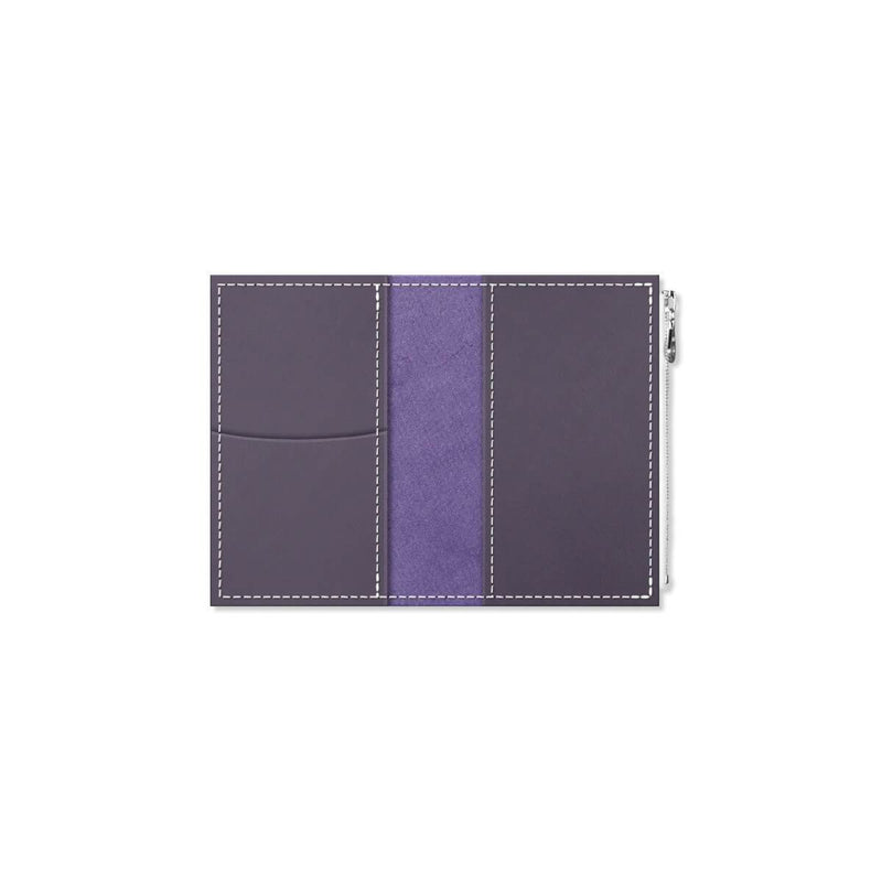 Custom - Foxy Notebook Wallet Insert  - Size No. 2 - Grape Soda