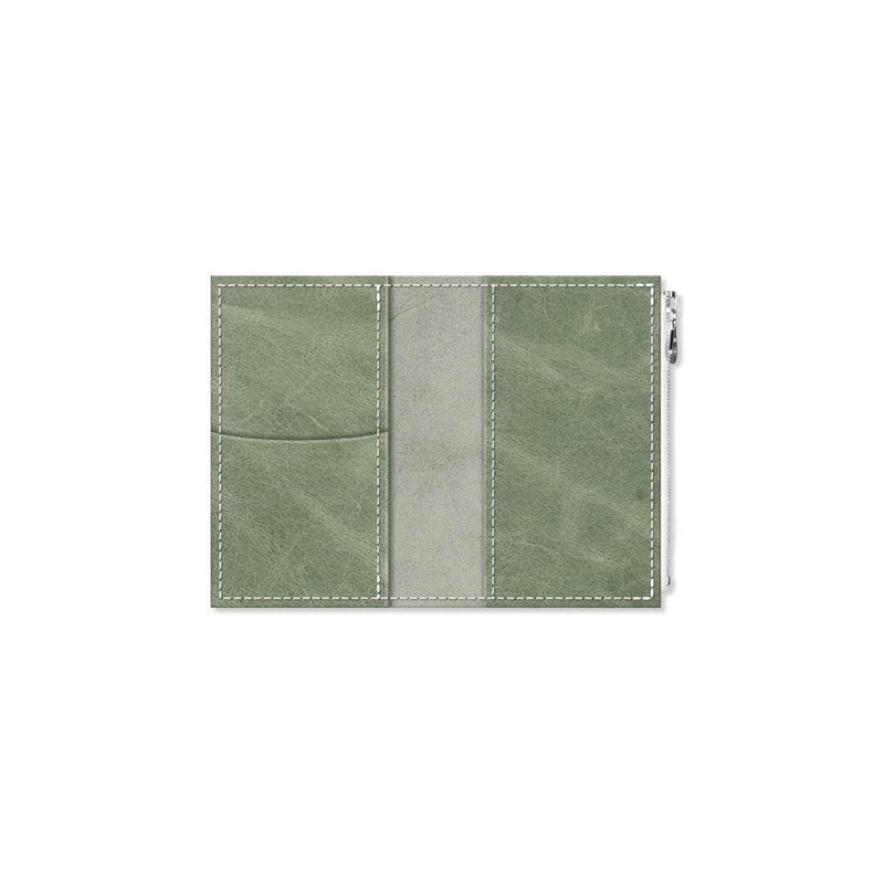 Custom - Foxy Notebook Wallet Insert  - Size No. 2 - Green Tea