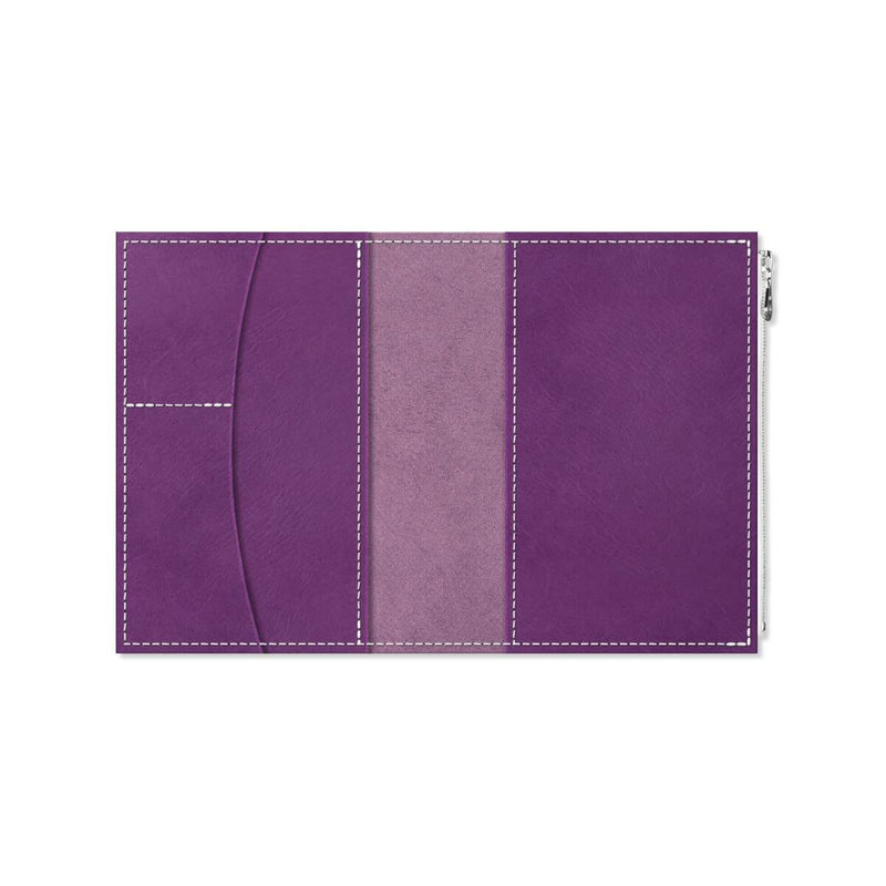 Custom - Foxy Notebook Wallet Insert - Size No. 5 - Iris