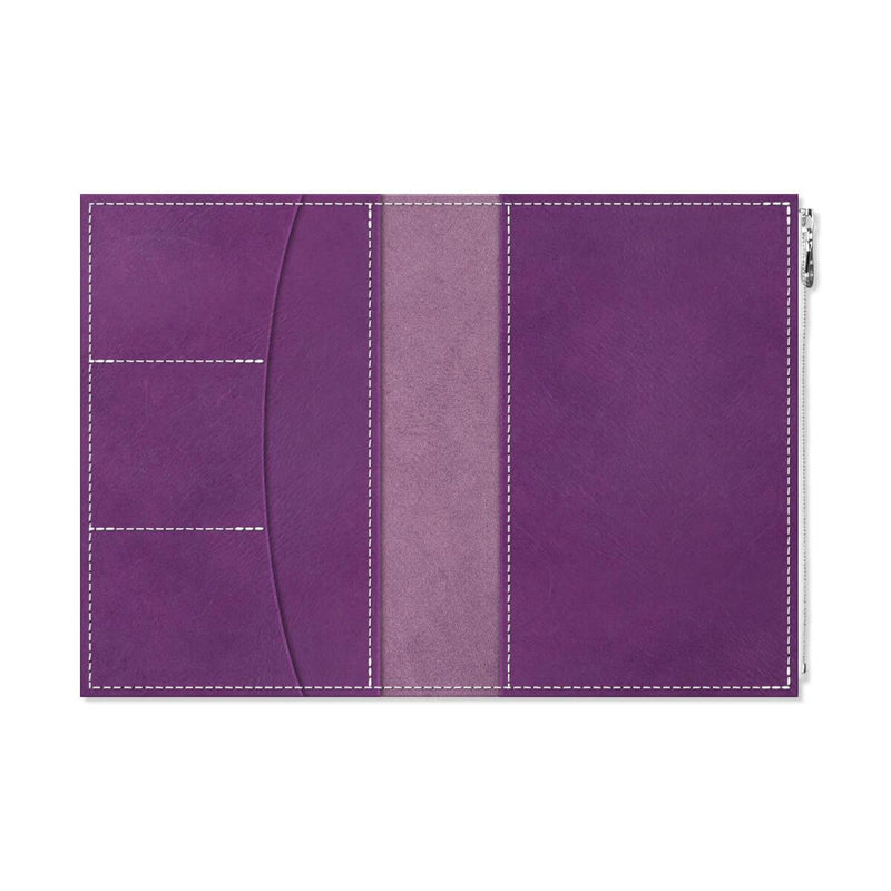 Custom - Foxy Notebook Wallet Insert - Size No. 8 - Iris