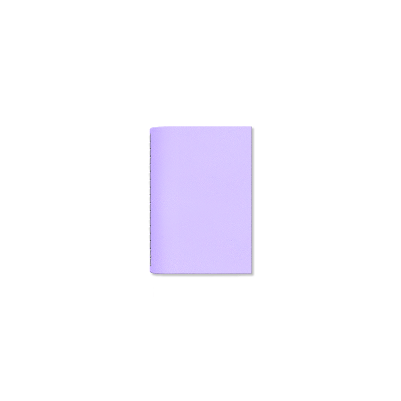Custom - Tiny Notebook - Lilac