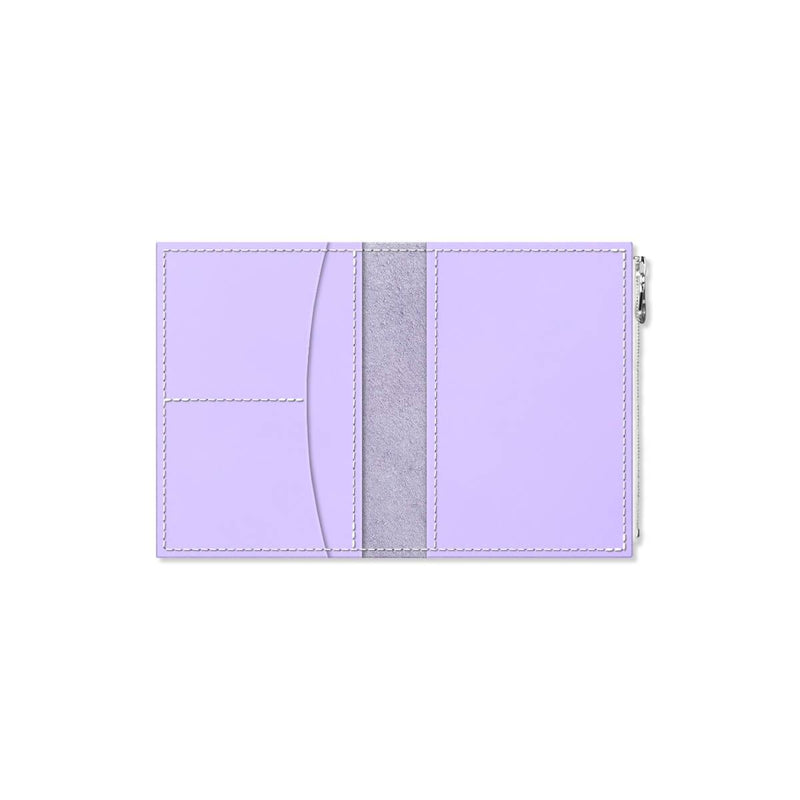 Custom - Foxy Notebook Wallet Insert - Size No. 3 - Lilac