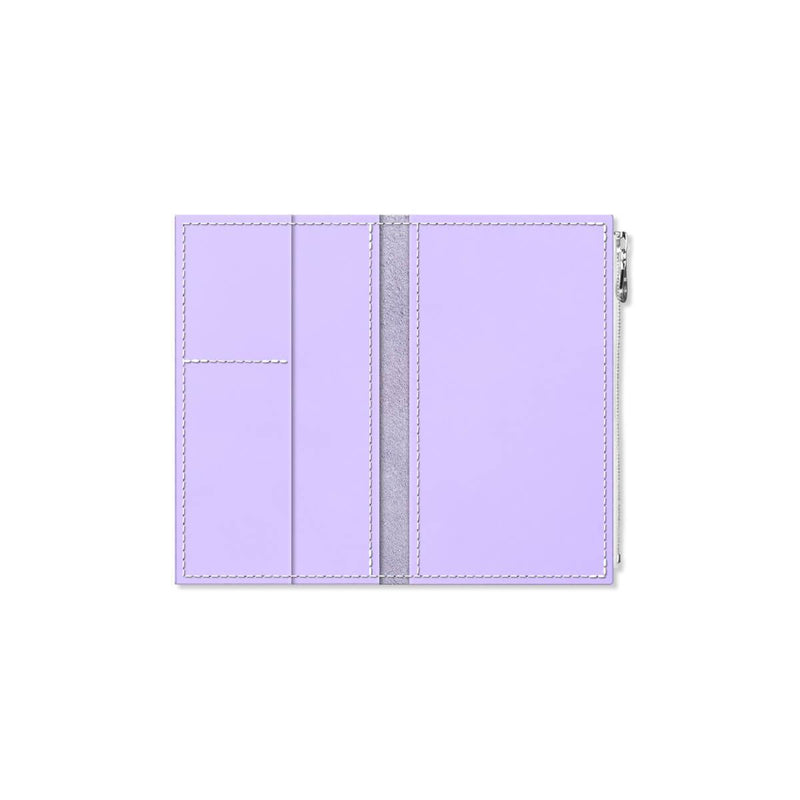 Custom - Foxy Notebook Wallet Insert - Size No. 4 - Lilac