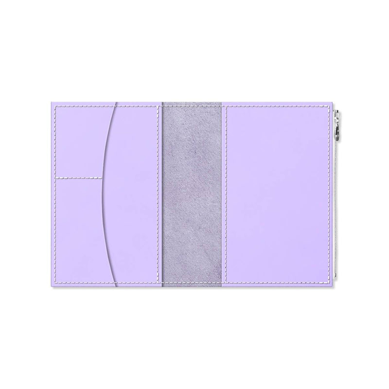 Custom - Foxy Notebook Wallet Insert - Size No. 5 - Lilac