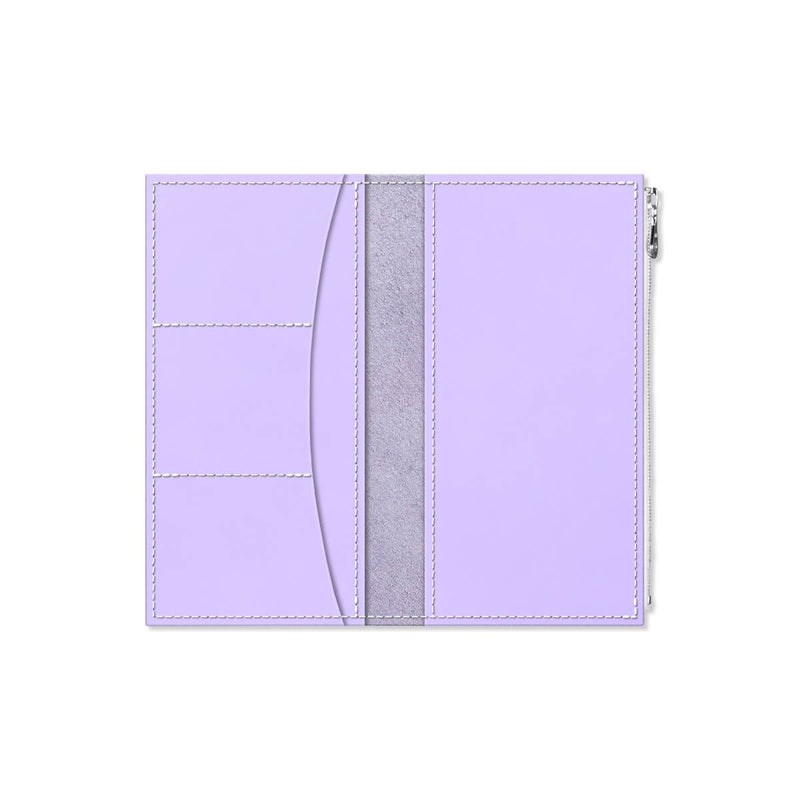 Custom - Foxy Notebook Wallet Insert - Size No. 6 - Lilac